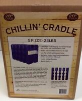 Qty5 Chillin' Cradle Colder Than Ice Technology 25lbs Powered By Arctic Ice
