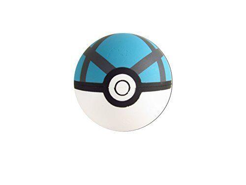"Electrode Pokemon Banpresto Official 2.5/"" Foam Painted Pokeball"