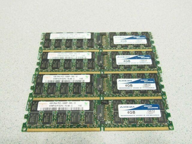 Hynix 1GB PC2-5300E 667Mhz HYMP512U72CP8 Y5 AB C ECC NON-REG