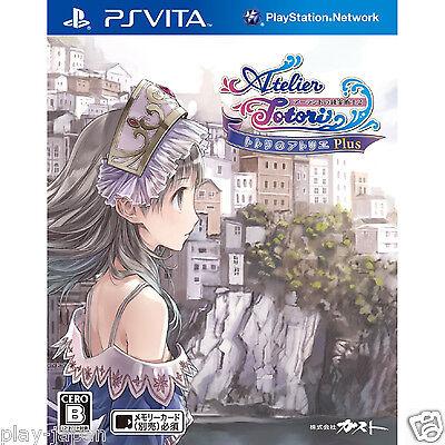 New PS Vita Totori no Atelier Plus Arland no Renkinjutsushi 2 Japan import