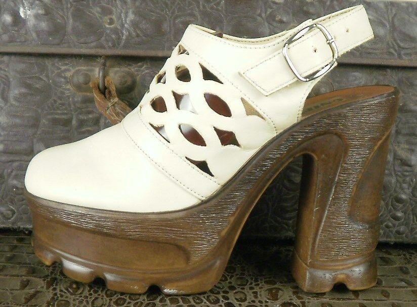 Plateau Damen Pumps GNIEWKO 70er TRUE VINTAGE 70s damen schuhe Schuhe Sandale