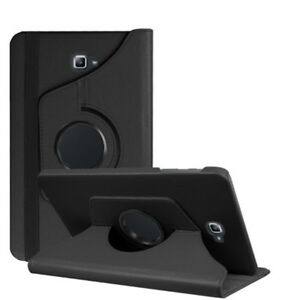 Tasche f Samsung Galaxy Tab A6 10.1 SM-T580 T585 Tablet Hülle Etui Case Schwarz