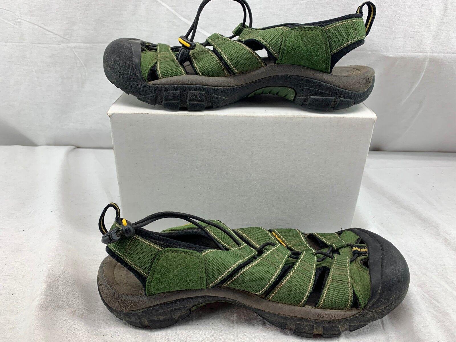 KEEN Men's Newport H2 Sandal GREEN SIZE 10