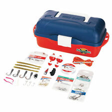 Eagle Claw Go Fish! Extreme Value Tackle Kit - Tackle Box with 55pcs #KTKLBXFW
