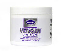 Vetasan Ointment Antiseptic Ointment For Horses Dogs And Cats 4oz Jar