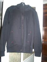 Mondetta Womens Black Hooded Jacket Size Small S