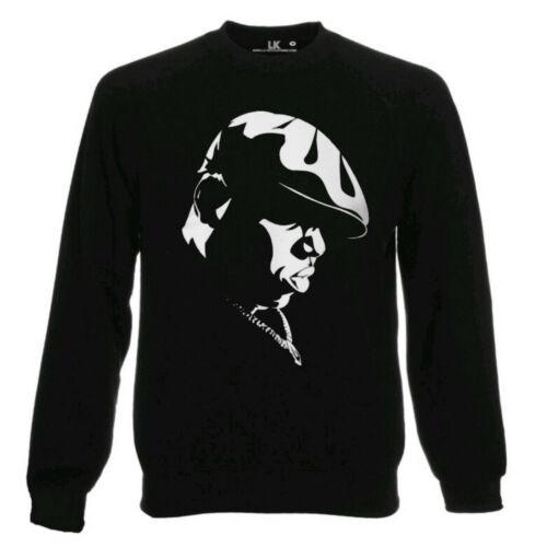 Biggie Smalls Sweatshirt Hip Hop Men/'s Ladies Jumper Music Urban Streetwear