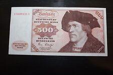 500 DM Schein BRD Westdeutschland 01.02.1980 Sehr guter Zustand