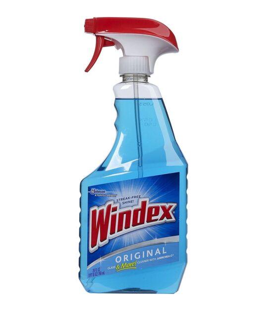 Windex Blue Trigger Spray Original Glass Cleaner (680ml) 23oz Window Cleaner