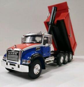 CUSTOM New Mack Granite Dump Truck 1//64 2019 Greenlight rock gravelDirtHaulerDCP