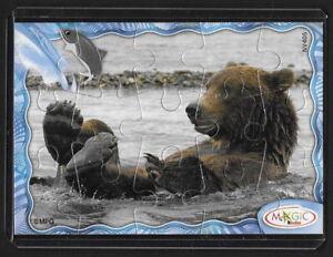 Jouet kinder puzzle 2D Ours NV405 France 2008 + étui de protection +BPZ giGclchT-08023156-977497477