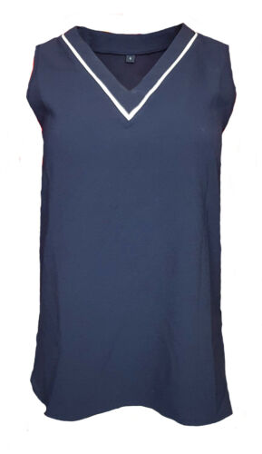 WOMENS Size 10 Official TEAM GB Sleeveless T Shirt Top Great Britain Olympics