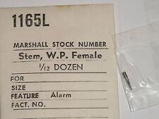 AS winding stem 1475 1568 1930 1931 female part tige de remontoir ( alarm )