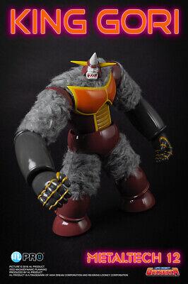 【H.L PRO】MetalTech 12 UFO Robot Grendizer KING GORI Action Figure New