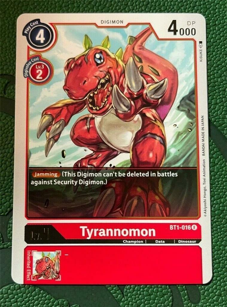 BT1-056 Digimon TCG Singles Playset NM Uncommon Petermon x4