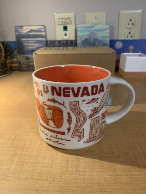Starbucks Been There Collection Nevada Mug 14 Oz