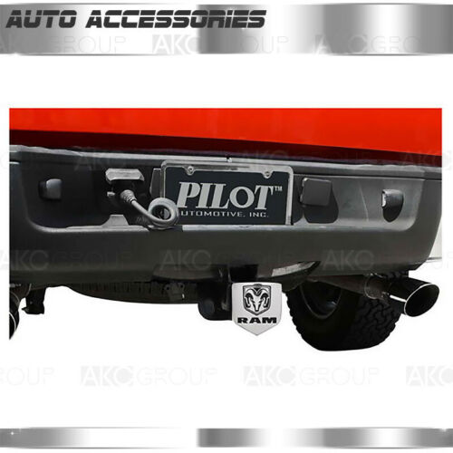 Ram Logo Hitch Cover For 2 Inch And 1-1//4 Inch Hitch Receivers