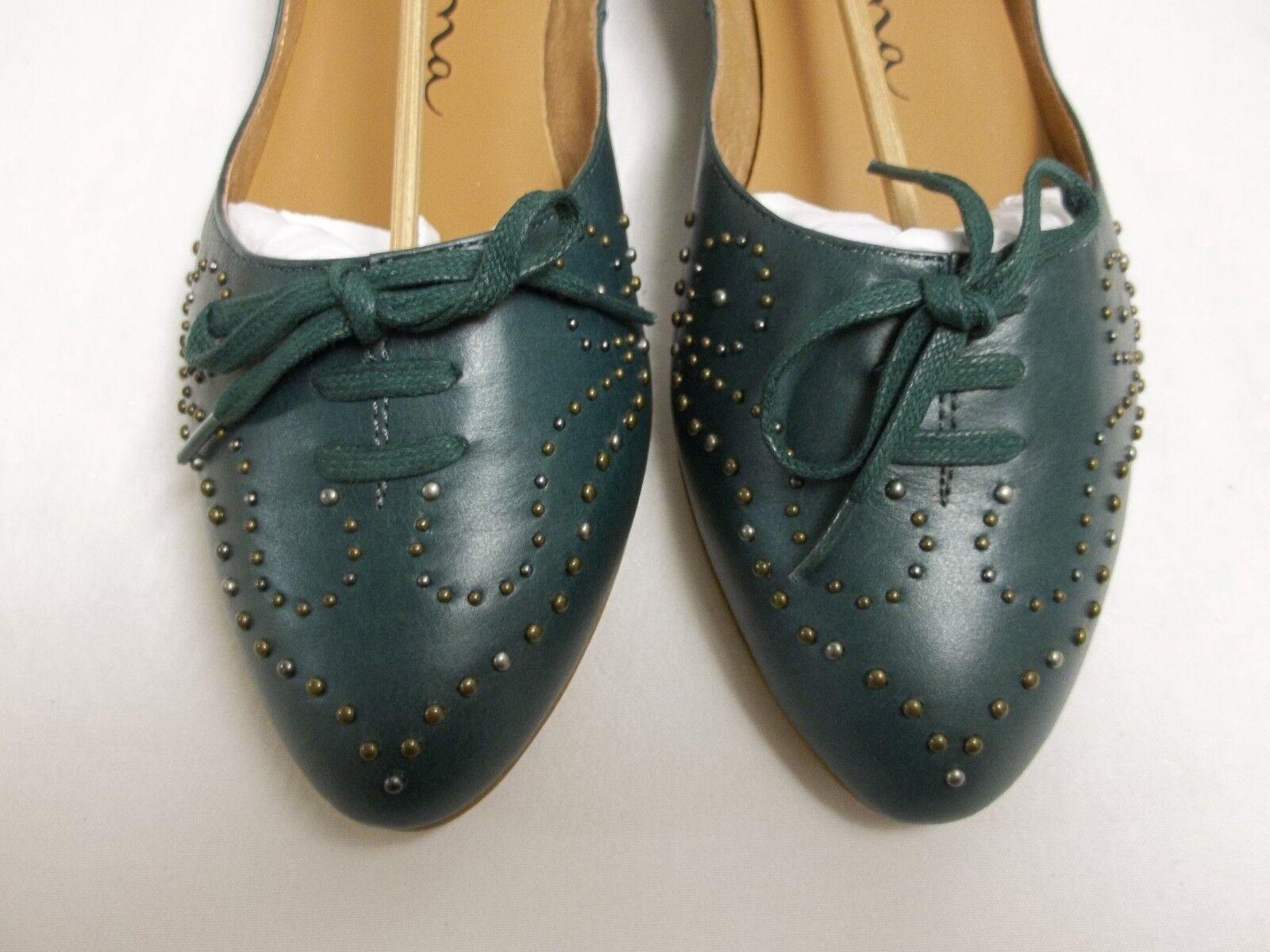 Nina Größe 8 Flats M Joelynn Pine Leder Flats 8 New Damenschuhe Schuhes 7e09e9
