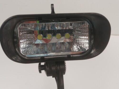 Solar Flagpole Light SFPL-4 Powerful 420 Lumens Warranty