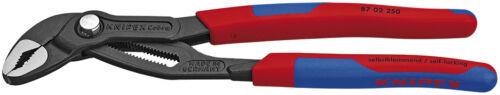 Knipex 8702250SBA Cobra Degrees High-Tech Water Pump Pliers w//Grips 10 In