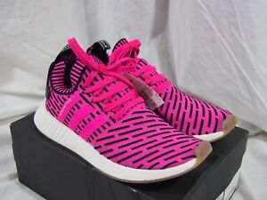 134e90e2f649d8 Image is loading Adidas-NMD-R2-Primeknit-Japan-Shock-Pink-BY9697