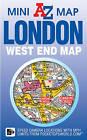 London West End Mini Map by Geographers' A-Z Map Co Ltd (Sheet map, folded, 2015)