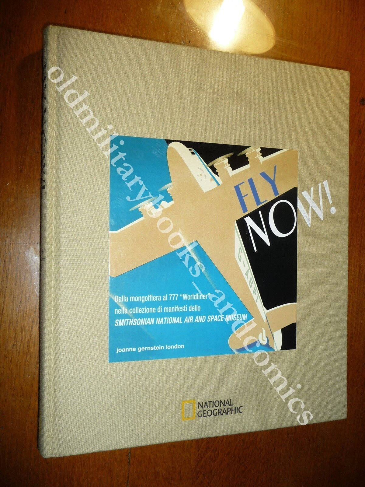 FLY NOW! DALLA MONGOLFIERA AL 777 WORLDLINER NEI MANIFESTI SMITHSONIAN NATIONAL