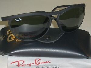 8725209c54b VINTAGE B L RAY BAN PS3 MATTE BLACK G15 CATS CURVED PREDATORs WAP ...