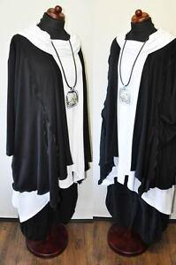 50 jersey Superposition xxl 48 54 long pull ° noir XXXL ° ° zipfel 52 cardigan ° qaPa6wXU