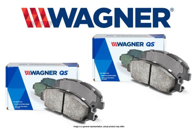 Wagner QuickStop ZD1288 Ceramic Disc Pad Set Includes Pad Installation Hardware Rear