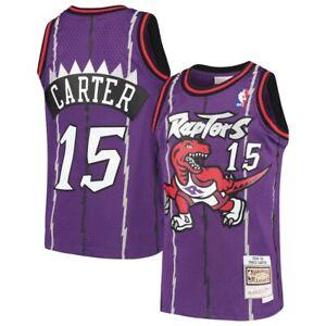 Youth Toronto Raptors Vince Carter Mitchell & Ness Purple 1998/99 HWC Jersey