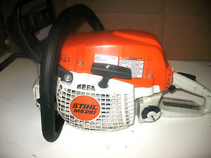 Stihl ms291 chainsaw fix or parts chain saw ms 291 chain saw used nice 391 261 ebay - Stihl ms 291 ...
