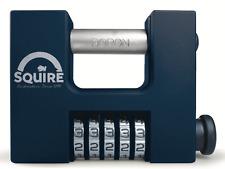 Squire CBW85 85mm 5 RUOTA Heavy Duty Combinazione Sicurezza Lucchetto SERRANDE CANCELLI