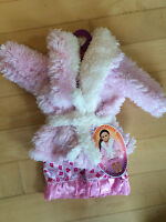 18 Doll Clothes Nightgown Pajamas & Fluffy Robe