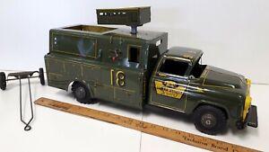 1950-039-s-MARX-Lumar-Utility-Service-Truck-Great-Original-Condition