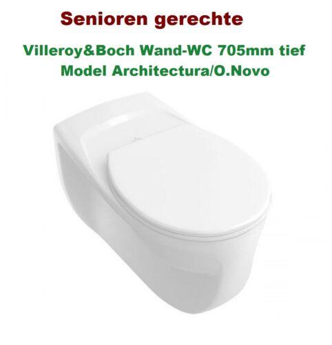novo 669210 Elderly /& Disabled Wall-WC Villeroy /& Boch Architectura//O