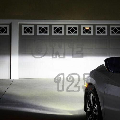 2x Super Bright H10 9145 9005 6000K White 55W CREE LED Conversion Kit Fog Light