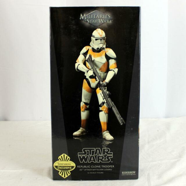 Star Wars Sideshow 1:6th Scale Figure Exclusive 212th Republic Clone Trooper NR!