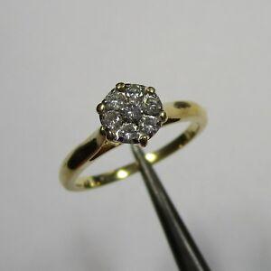 1723 - Klassischer Ring aus Gelbgold 750 mit sieben Brillanten - 2406 - Bessenbach, Deutschland - 1723 - Klassischer Ring aus Gelbgold 750 mit sieben Brillanten - 2406 - Bessenbach, Deutschland