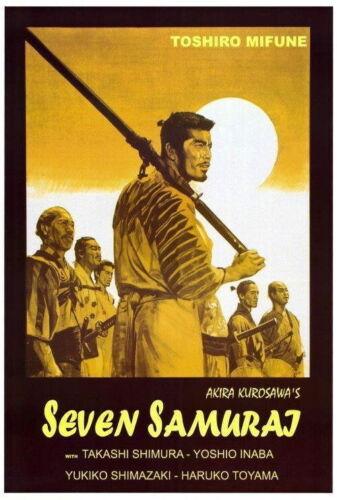 65654 Seven Samurai Toshiro Mifune Takashi Shimura Wall Print POSTER CA