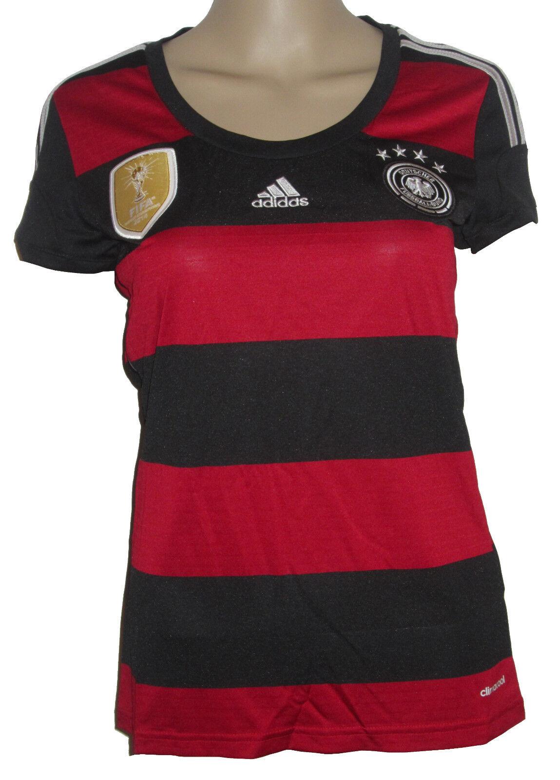 Adidas DFB Alemania Camiseta [ Talla XS S ] Mujer 4 Estrella AC1804 Nuevo y Emb.