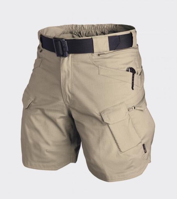 "HELIKON TEX UTL Urbain TACTICAL OUTDOOR Été Shorts 8.5 "" Pantalon court kaki 3XL"