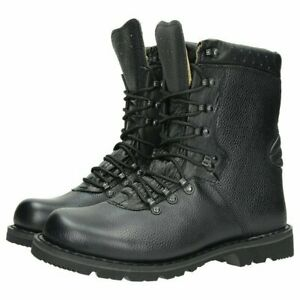 Mil-Tec-Military-Boots-Glans-8-Eyelet-Tactical-Combat-Work-Boots-Black