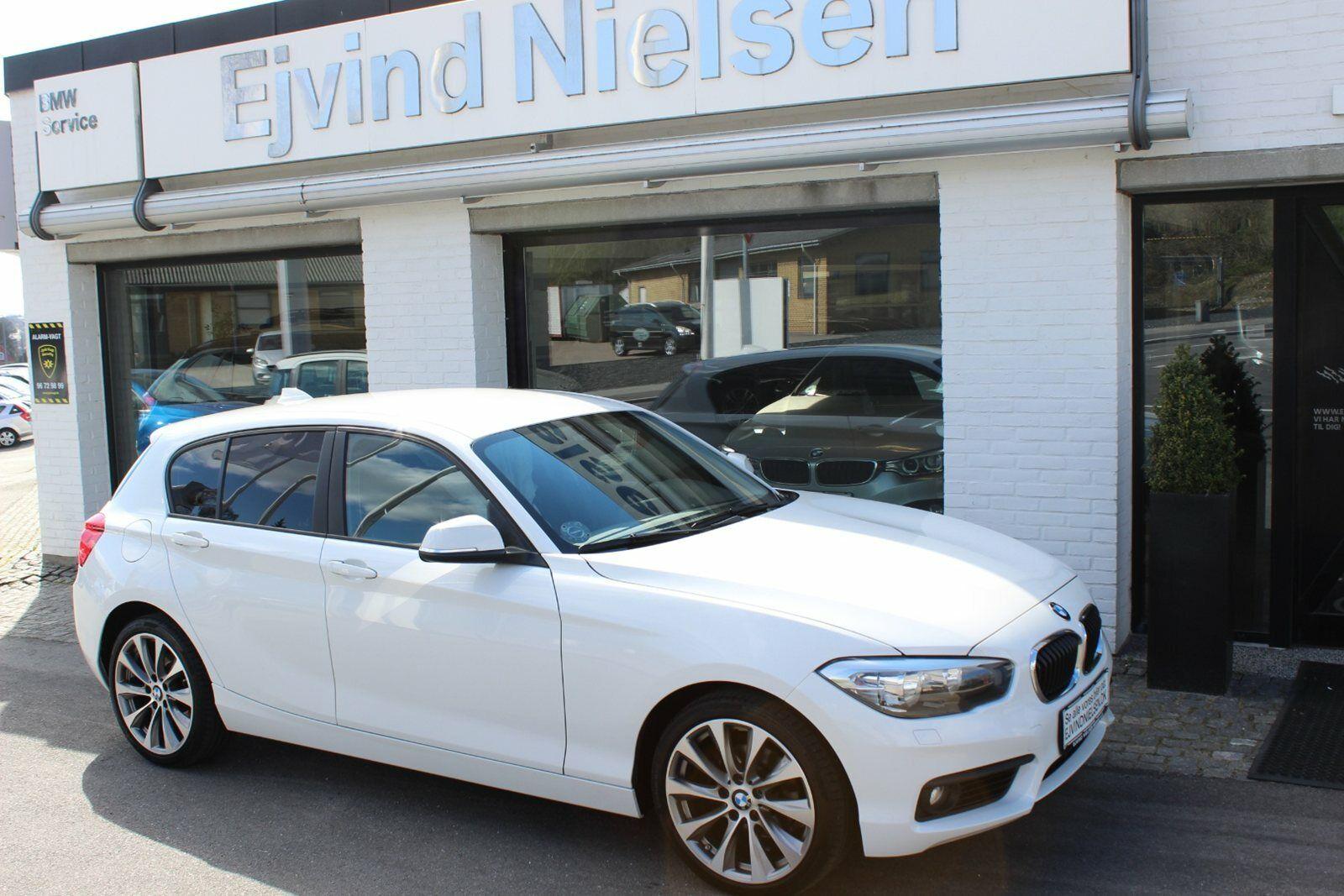 BMW 118d 2,0 aut. 5d - 219.900 kr.
