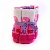 Sanrio Hello Kitty 6 Pack 12 X 12 Cotton Wash Cloth Set