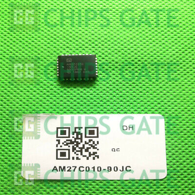AM27C010-120JC  AMD  Integrated Circuit:PLCC-32,IC-SM-1MB OTP PROM Price for 1