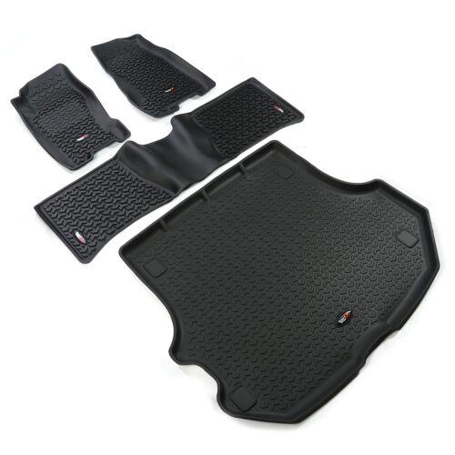 Floor Liners Kit Black 99-04 Jeep Grand Cherokee Wj X 391298832