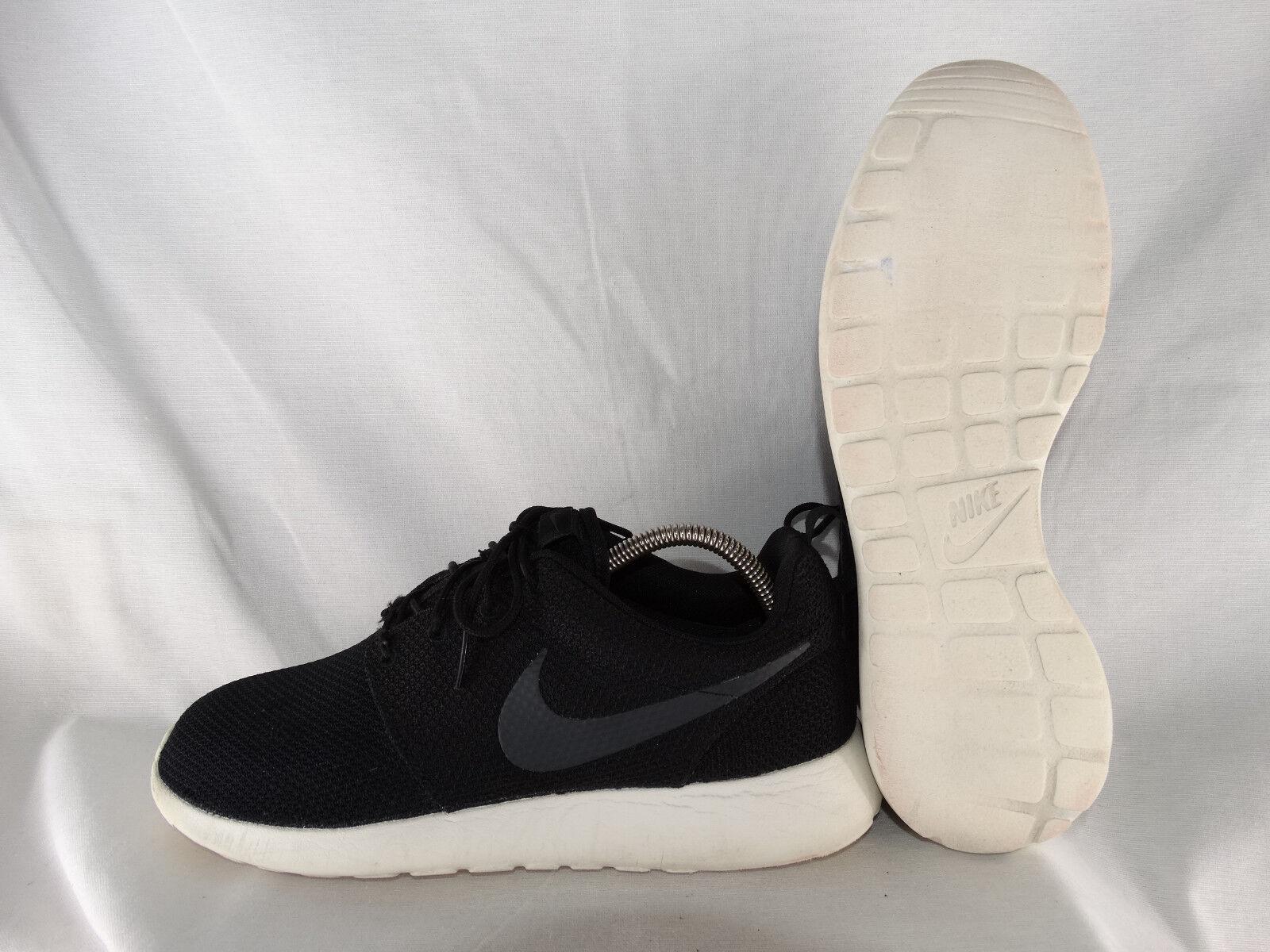 Nike Roshe One Laufschuhe 511881-010 schwarz-weiß EU 44 US 10