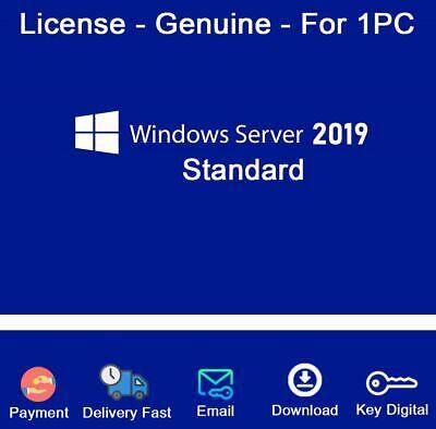 Genuine Windows Server 2016 STANDARD Download Link /& Product Key