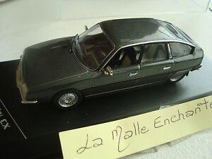 CITROEN-CX-2400-GTI-GRIS-FONCE-1977-1-43-WHITEBOX-NEUVE-EN-BOITE-PLEXI